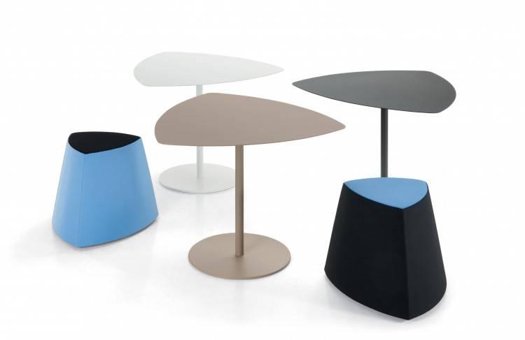 Ensemble table et pouf Design sur Fréjus