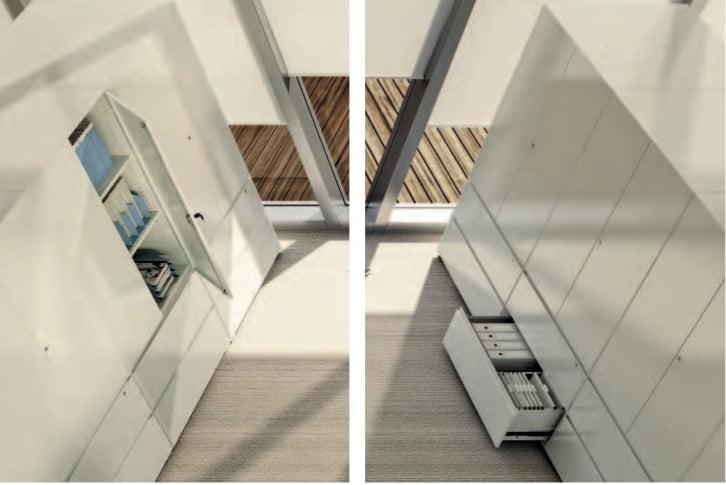 armoire combiné placard et tiroirs
