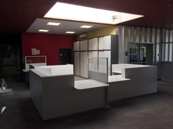 Visuel des banques d 'acceuil installées sur Marseille