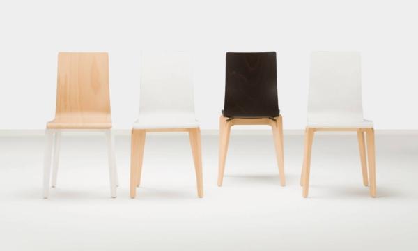 Chaises CAFE LGW déclinées en teinte bois ou peint sur Aix les Milles
