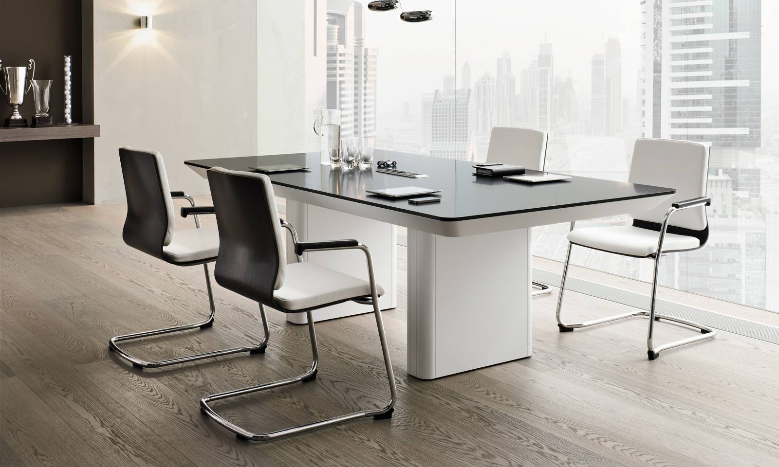 haises visiteurs MOJITO avec table de réunion e-Range sur Meyreuil