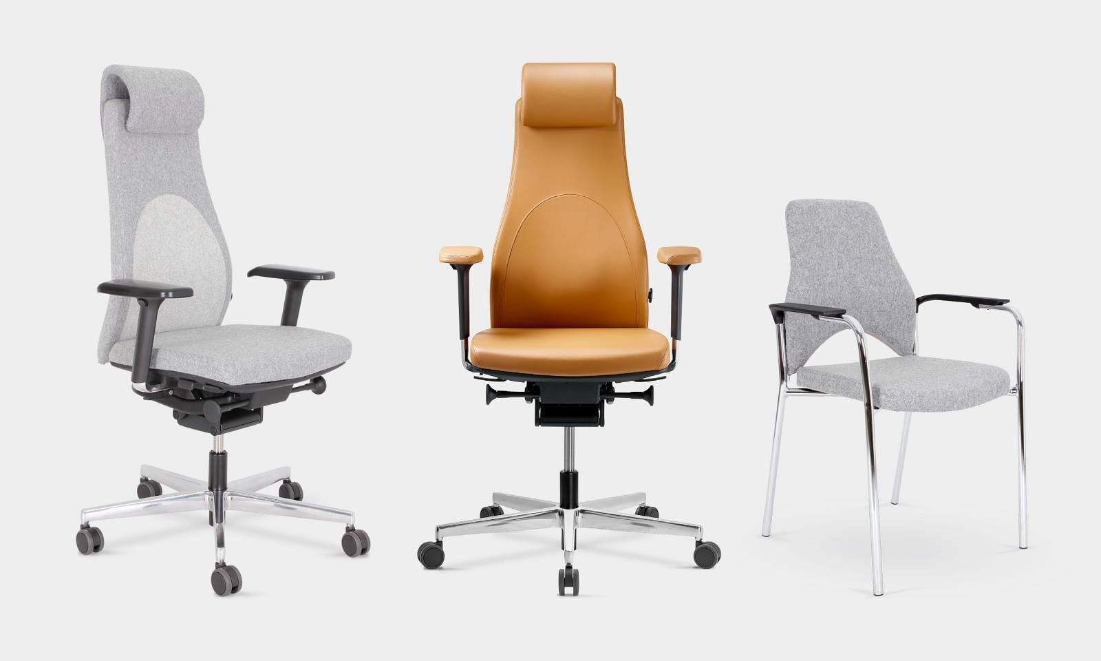 Configurations diverses du fauteuil de direction haut de gamme PANTHERA sur Aix en Provence