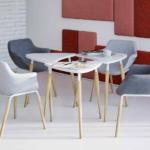 Ensemble de table modulaire TAUKO avec fauteuil KAIKA