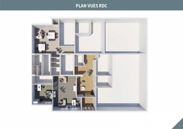Etablissement de plan 2D puis vue axonométrique de l'étage