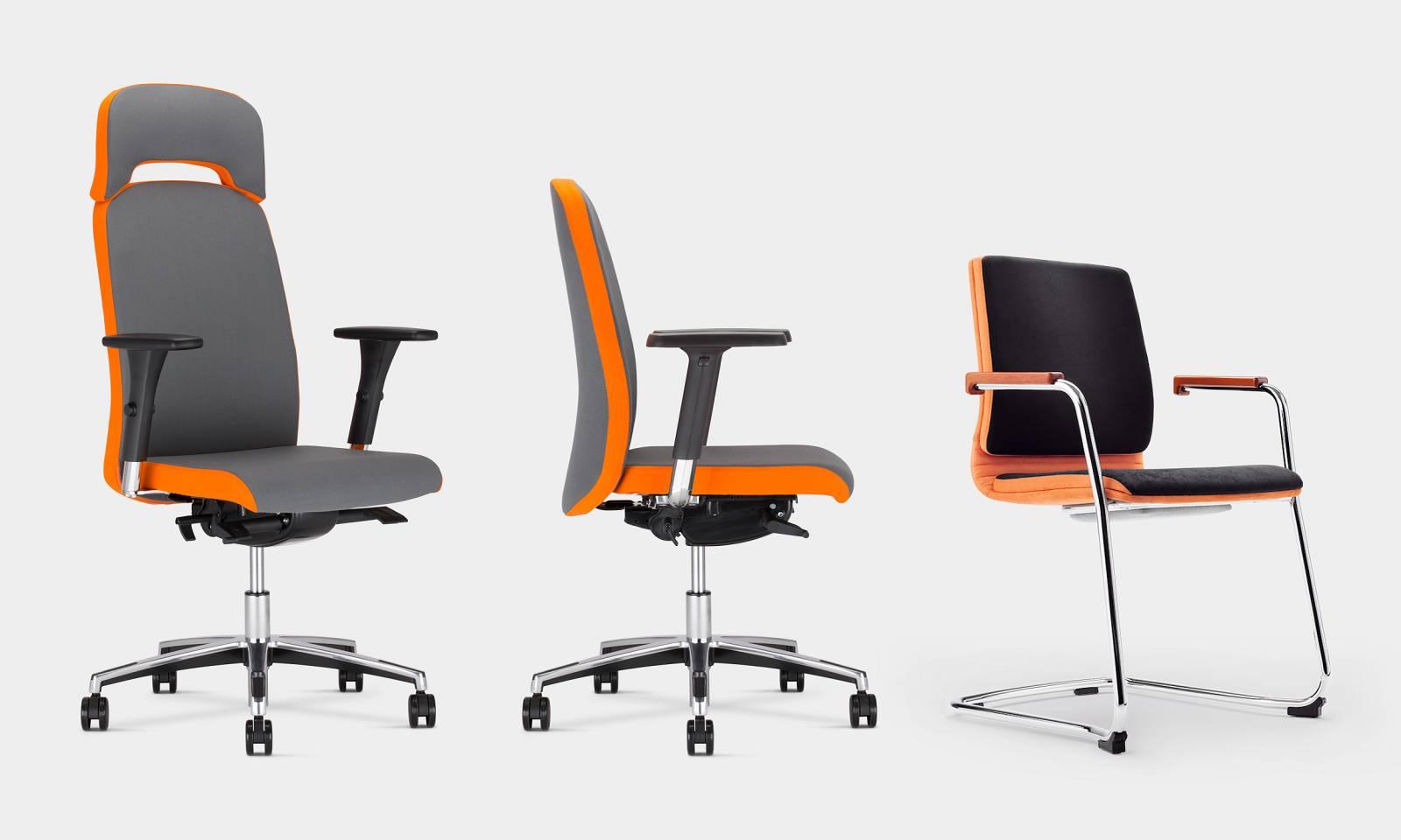 Gamme BELIVE fauteuil de direction, fauteuil de réunion et chaises de réunion et ou visiteur sur Marseille