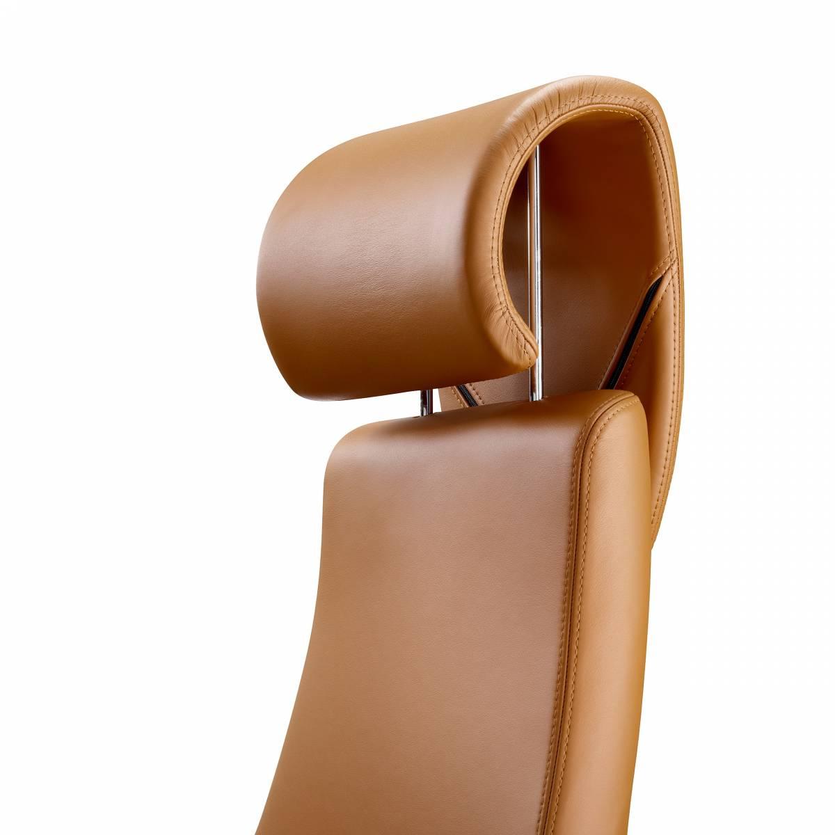 Fauteuil de direction haut de gamme avec têtière pour soutien des cervicales sur La Ciotat
