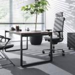fauteuil ergonomique de direction et chaises visiteurs pied luge gamme SAIL de chez NOWYSTYL sur Marseille