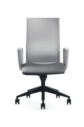 fauteuil de travail KROMA MESH dossier haut accoudoirs fixes sur La ciotat