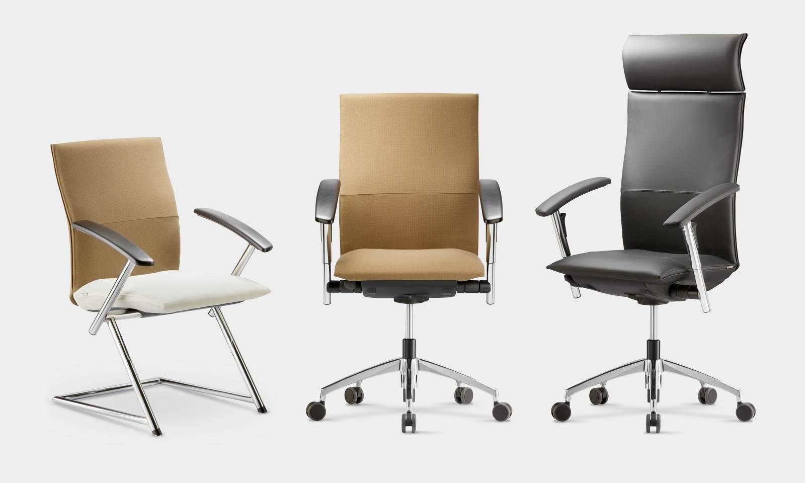 gamme complète TIGER-UP chaise visiteur, chaise de conférence et fauteuil de direction sur Aix les Milles