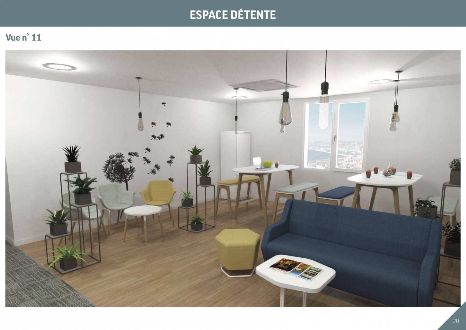 LM Déco a proposé du mobilier adapté à l'activité et aux besoins des collaborateurs