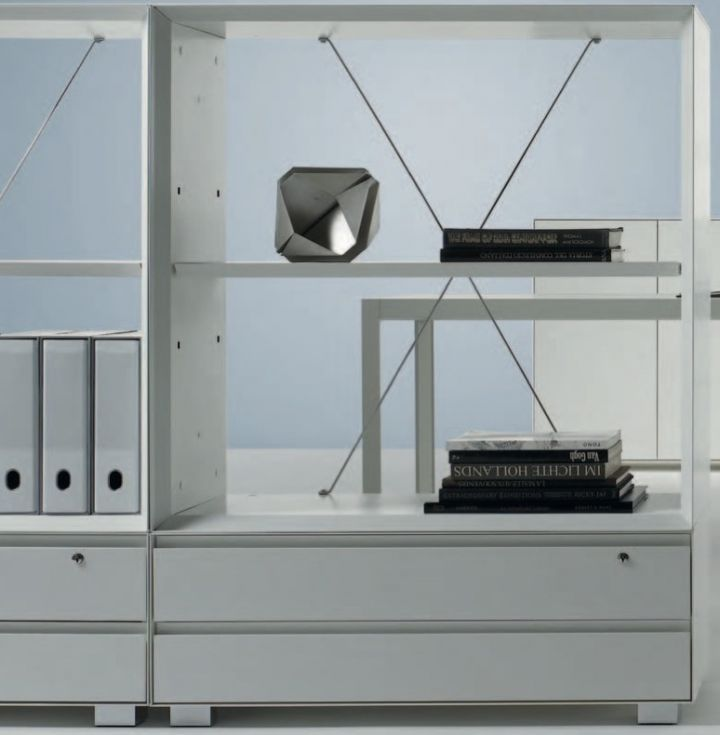 meuble étagère et tiroir