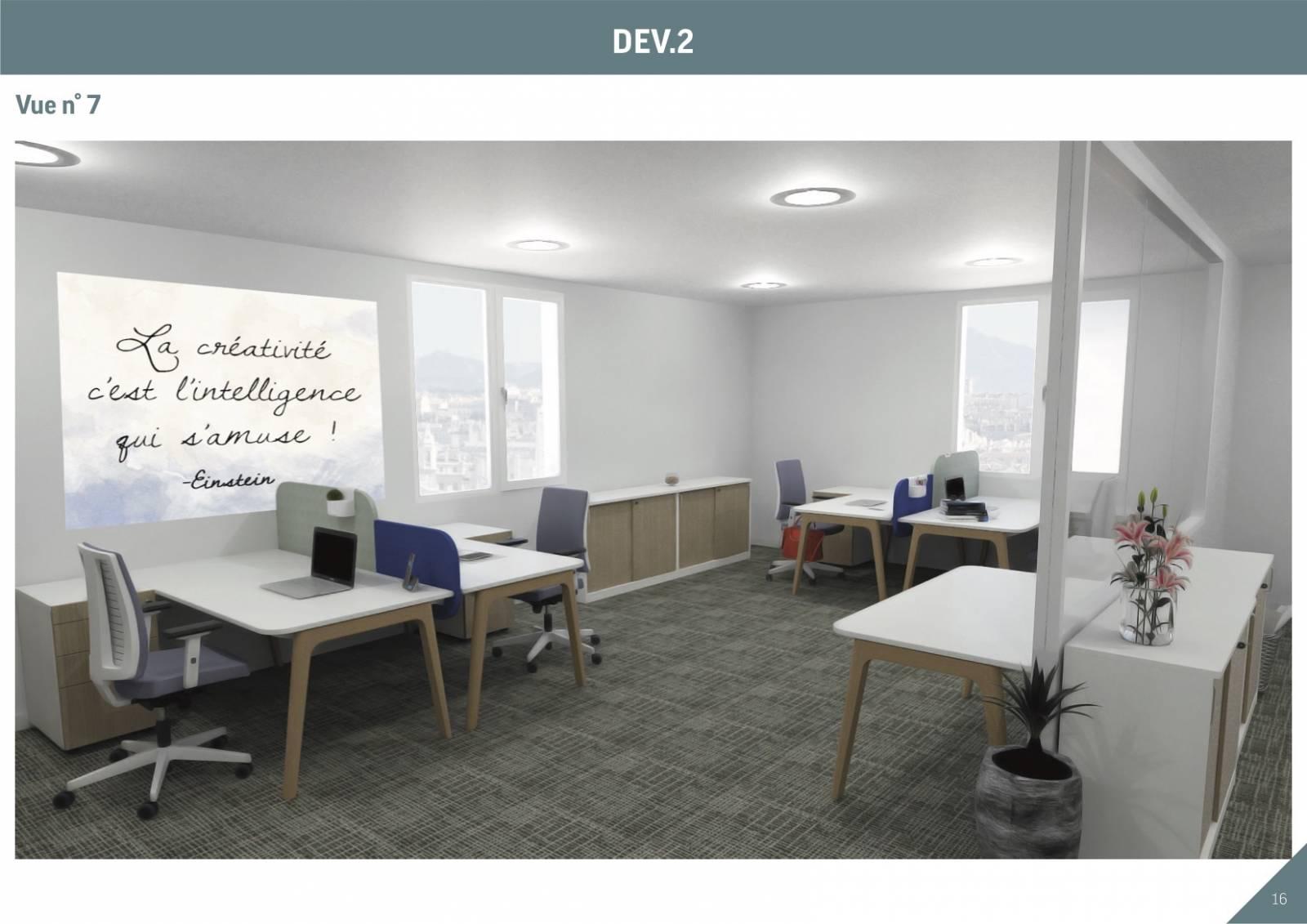 Mobilier de bureau pour open space sur Aix en provence