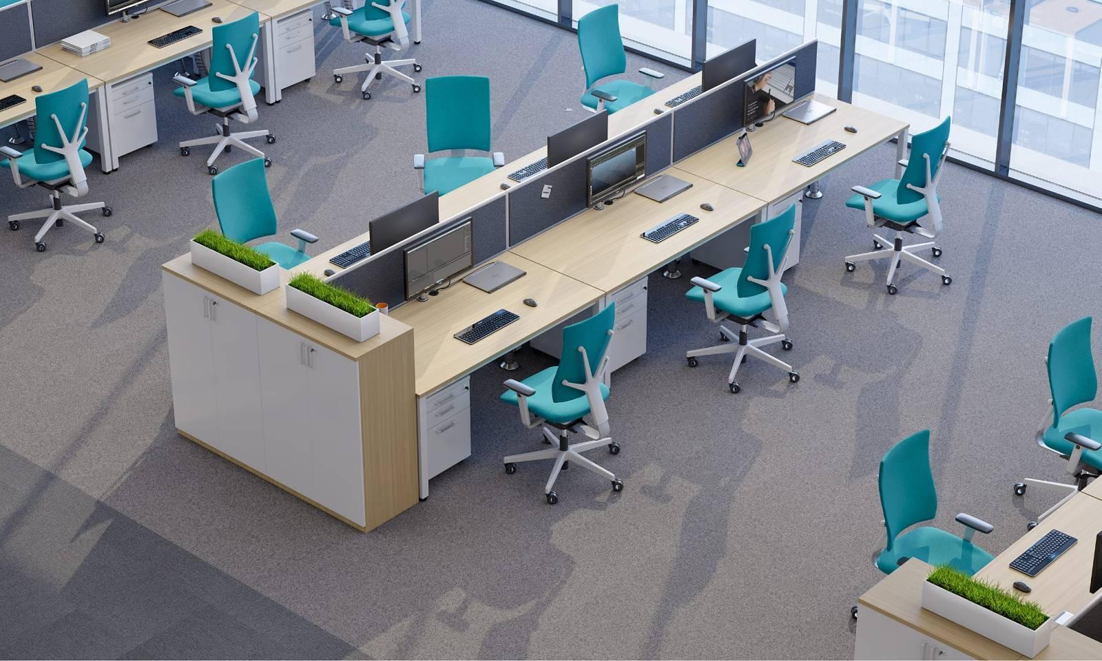 Open space avec fauteuil de travail 4ME Sur Aix les milles