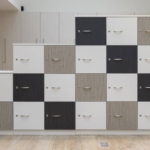 Rangement, armoire, casiers vestiaires structure bois sur Marseille