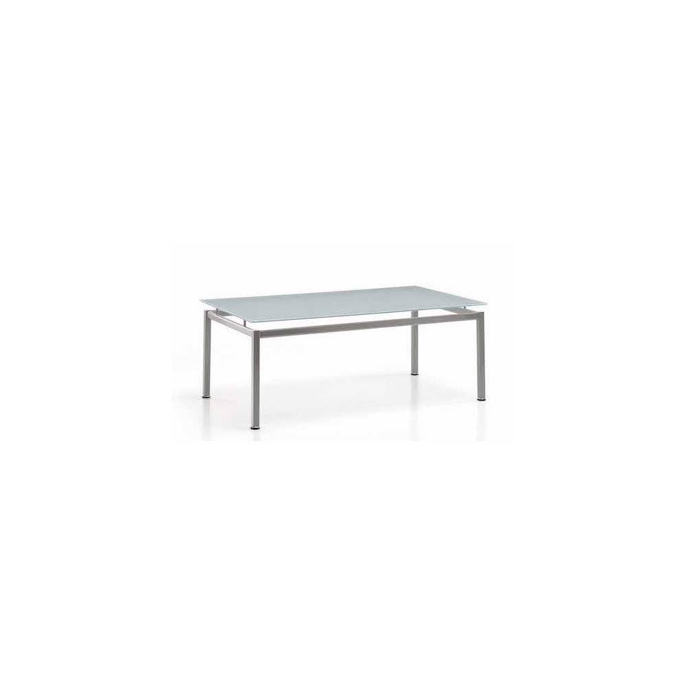 Table basse plateau en verre, rectangulaire ou carrée vendue sur Marseille