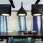Aménagement d'une salle de réunion avec les luminaires acoustiques BUZZIBELL sur Toulon