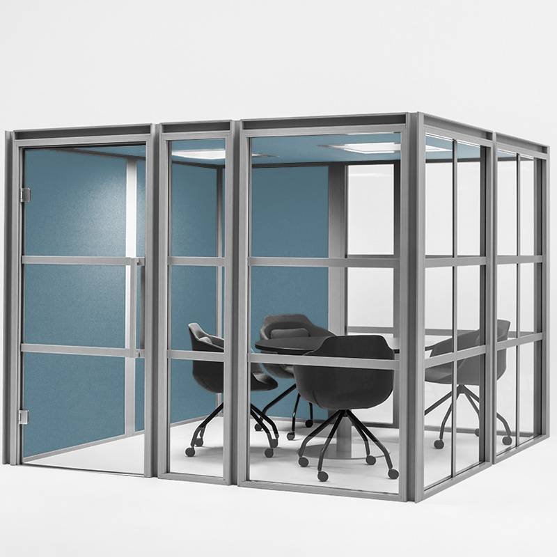 Cabine acoustique en salle de réunion sur Aix en provence