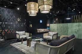 Configuration regroupée pour ce luminaire acoustique buzzichandelier dans un salon d'attente sur Aix les Milles