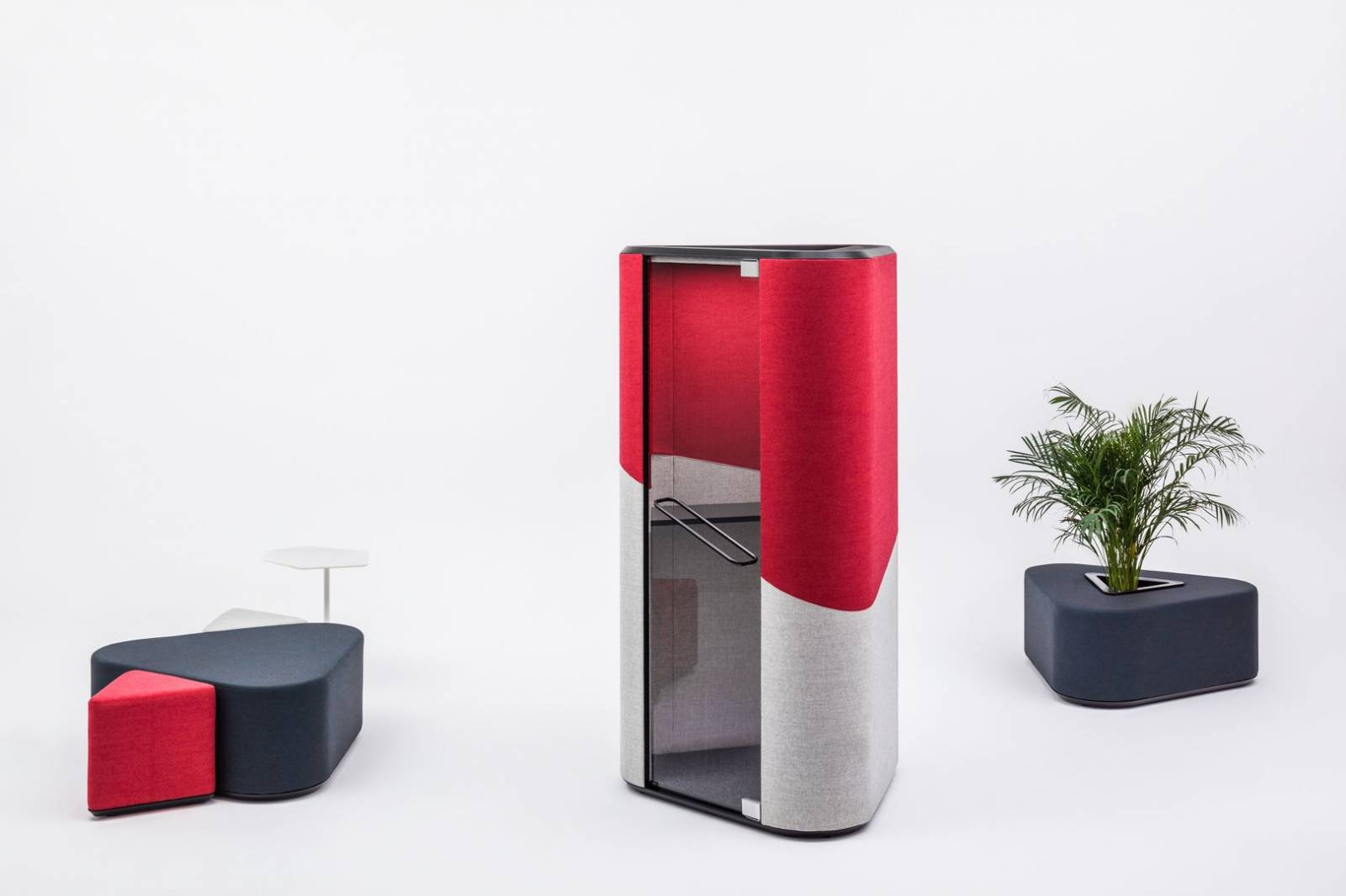 Ensemble des produits de le gamme HANA pour améliorer l'acoustIque dans vos espaces de travail sur Marseille