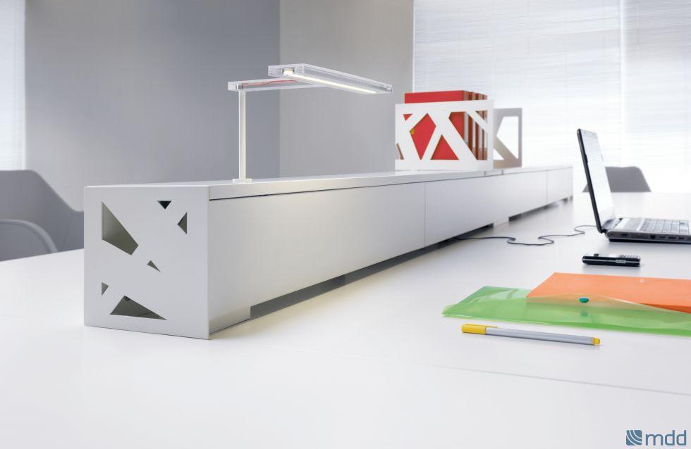 goulotte apparente design pour bench