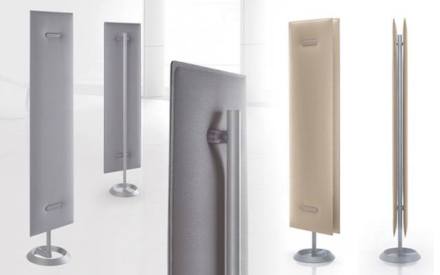 Panneau acoustique sur pied, simple ou double pour plus d'efficacité sur La Ciotat