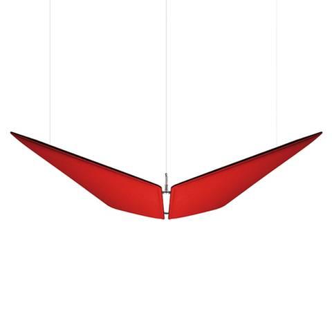 Panneaux acoustiques design ''papillon'' en suspension sur Marseille et ses environs.