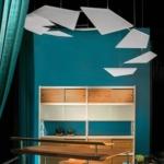 Suspension en plafond de panneaux acoustiques design sur Aix les Milles