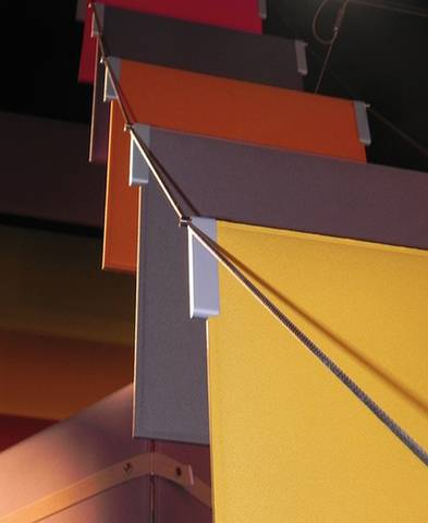 Système d'accroche pour panneaux suspendus TAB sur Aix en Provence